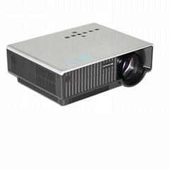 Barcomax LED projector HD 1080p with AV VGA HDMI USB SD card(media player) Input