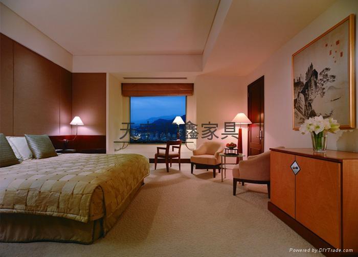 宾馆酒店客房家具 1
