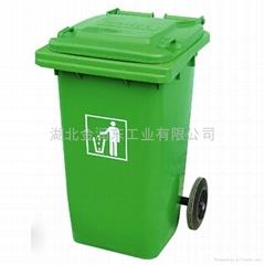 武漢100升塑料垃圾桶