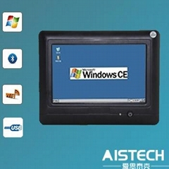 7 inch touch screen industrial computer with WIFI USB WinCE