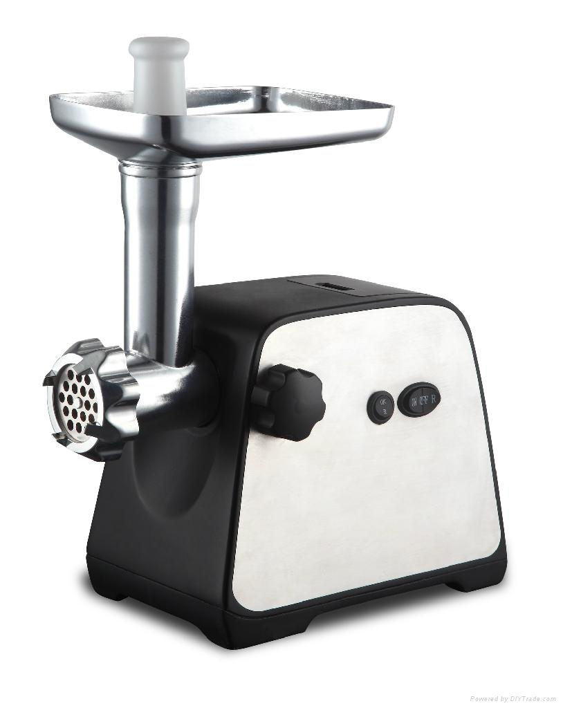Stainless Steel housing 8840 motor Meat Grinder with GS/CE/RoHS 1