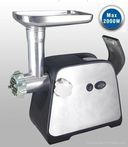 Stainless Steel housing 8840 motor Meat Grinder with GS/CE/RoHS 2