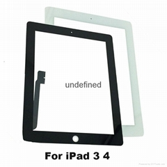 Touch screen glass digitizer for ipad 3/4