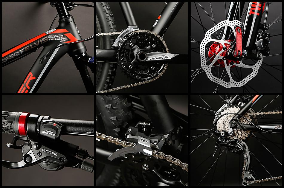 Direct Bicycle Factory Twitter AL mountain bike E  IS-29ER 4