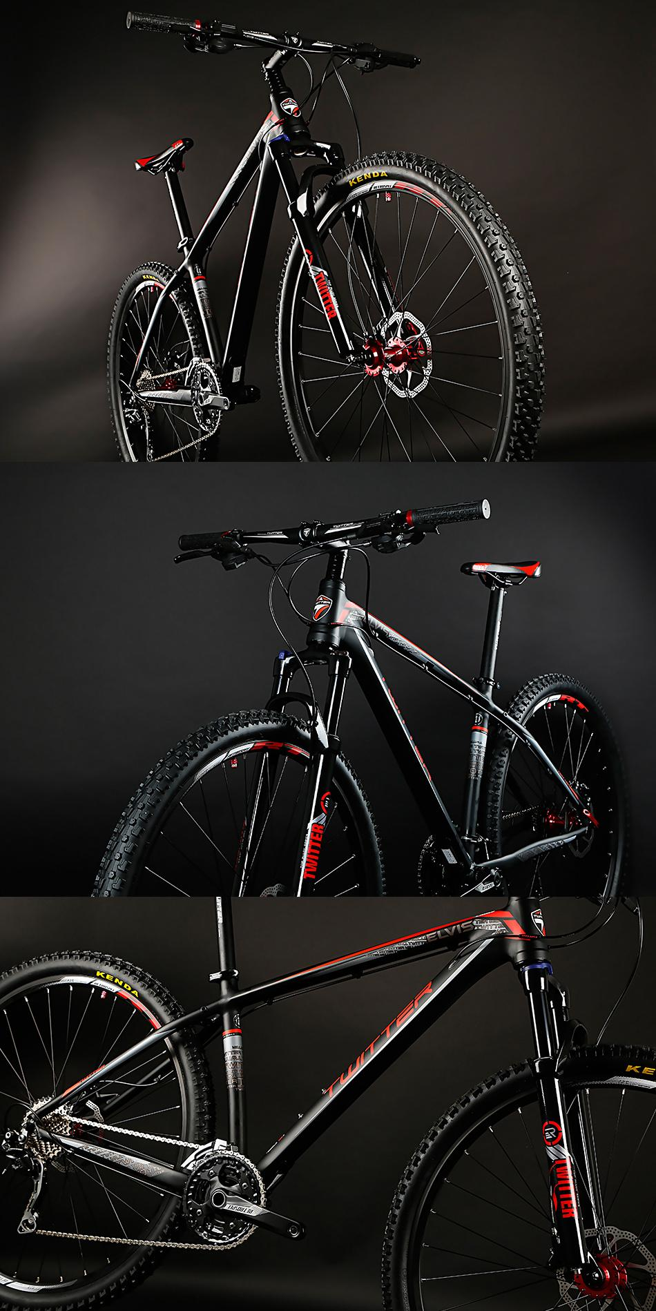Direct Bicycle Factory Twitter AL mountain bike E  IS-29ER 5