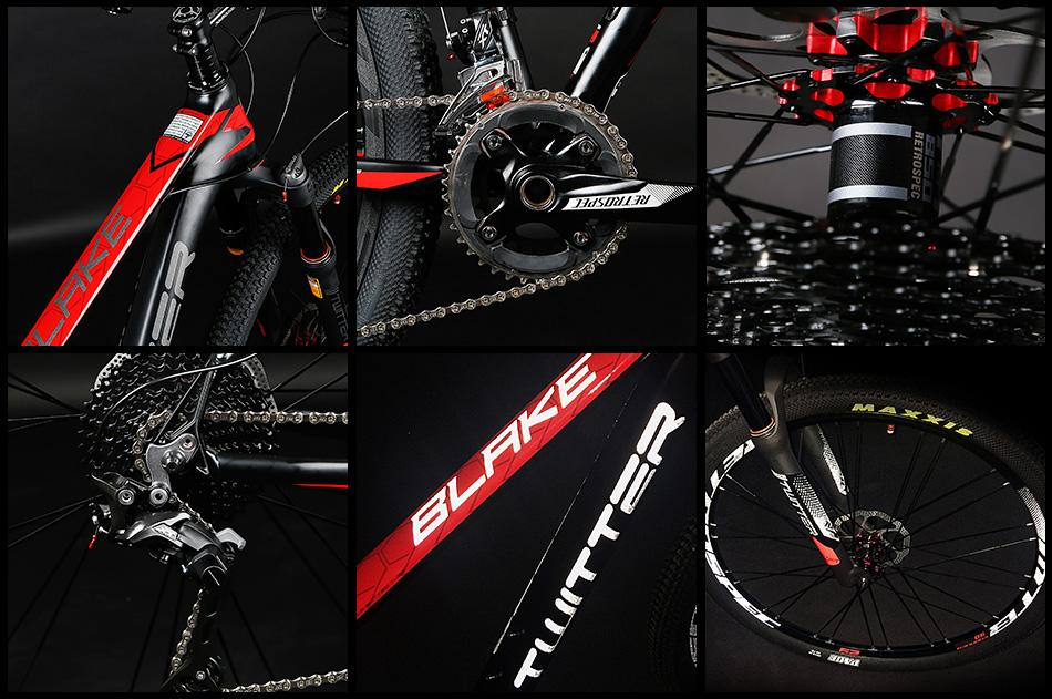 Bicycle Factory wholesale Twitter AL mountain bike BLAKE-29ER 3