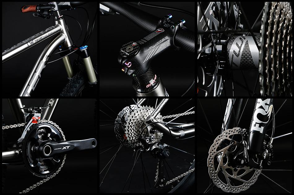 TWITTER Bike WERNER MTB,Titanium Alloy mountain bike factory wholesale 2