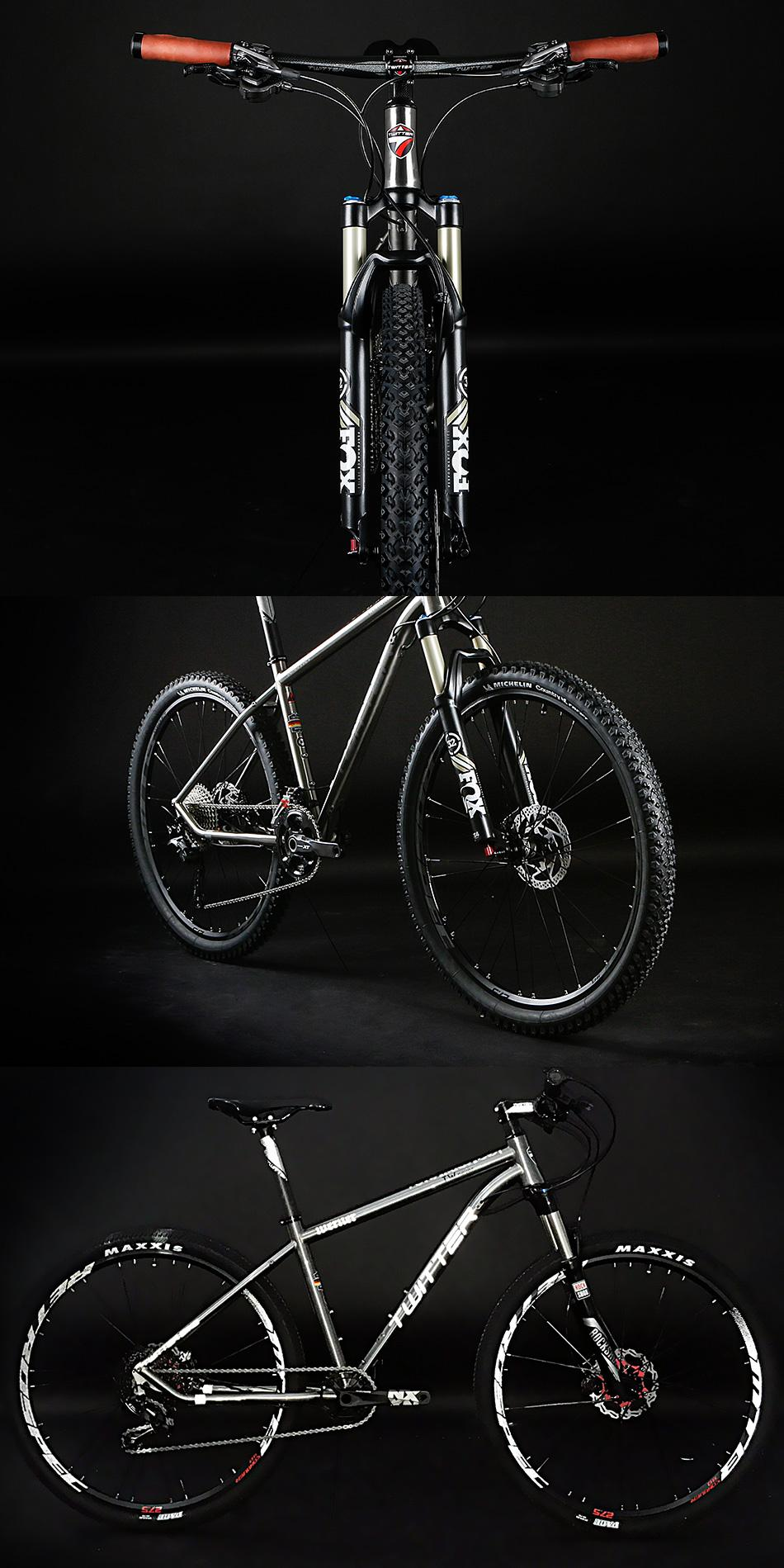 TWITTER Bike WERNER MTB,Titanium Alloy mountain bike factory wholesale 3