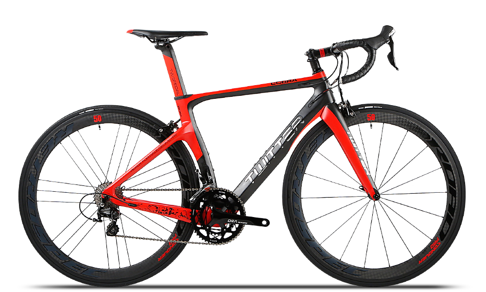 China Bicycle factory TWITTER Carbon road bike COBRA Carbon Wheels 1