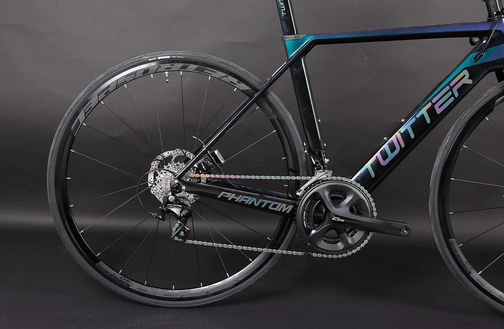 TWITTER carbon road bike  PHANTOM-OFF Road professional road bike  3