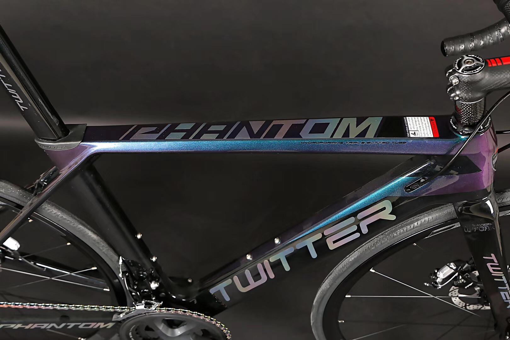 TWITTER carbon road bike  PHANTOM-OFF Road professional road bike  5