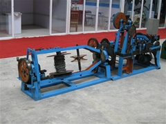 Automatic Single twisted barbed Wire Machine