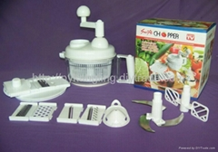 Manual food processor swift chopper