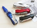 Creative stationery office supplies portable multifunctional nail clippers pen 2