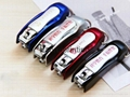 Creative stationery office supplies portable multifunctional nail clippers pen 3