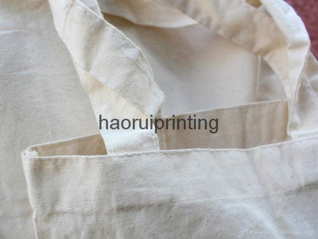 环保购物棉布袋,免费印刷logo 3