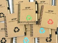customized Memo Notebook With Pen logo printing mini memo notebook with ballpen