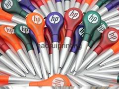 小批量定製捲尺圓珠筆,免費印刷,免運費