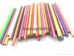 HB wooden pencil print the client's logo