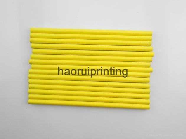 HB wooden pencil print the client's logo 5