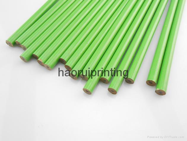HB wooden pencil print the client's logo 7