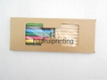 Kraft paper box 10PCS pencils +9PCS pastel Pencils set environmental protection  2