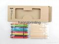 10支3.5英寸彩色铅笔+9支