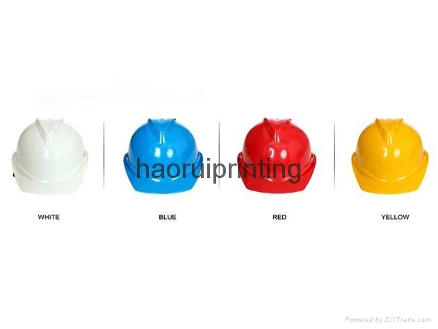 abs塑料安全帽免費印刷企業logo 2