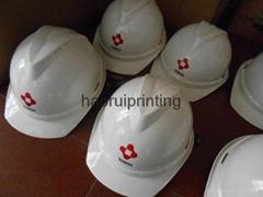 abs塑料安全帽免费印刷企业logo
