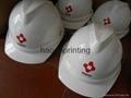 abs塑料安全帽免費印刷企業logo 3