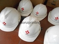 abs塑料安全帽免費印刷企業logo 6