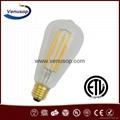 ST64 6W LED Vintage Edison filament bulb
