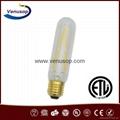 UL cri>90 t30 led filament bulb E27 E26