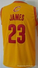 New Lebron James23 Cleveland Jerseys New Cavs Jersey Embroidery Logo
