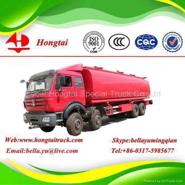 3 Axle 32000 Litres Fuel Tanker Truck 1