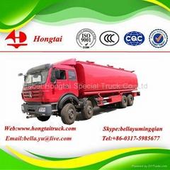 3 Axle 32000 Litres Fuel Tanker Truck