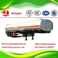 3 axle steel fuel tanker semi trailer