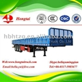 3 axle fence semi trailer