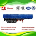 3 axle van dry cargo curtain semi