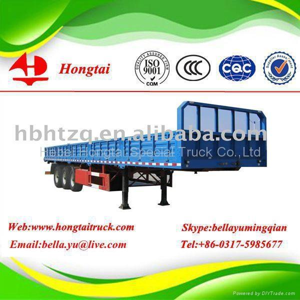 3 axle side wall semi trailer  1