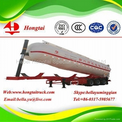 3-axle Medium density bulk powder tanker