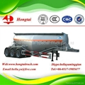 3 axles bulk cement semi trailer