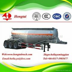 3 axles bulk cement semi trailer