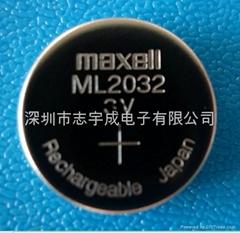 MAXELL ML2032万胜锂充电电池