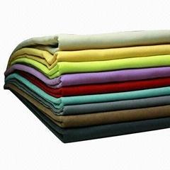 Mesh corduroy compound TC fabric