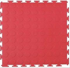 PVC铜钱纹