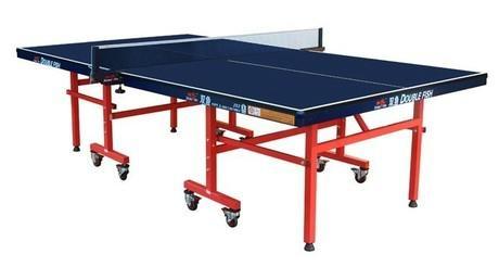 双鱼比赛折叠移动式乒乓球台 1