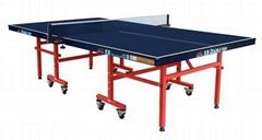 雙魚比賽折疊移動式乒乓球台