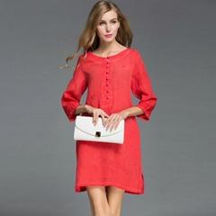 CASAUL Style WOMEN SUMMER DRESSES SILK