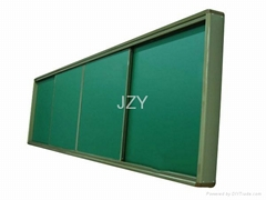 复合式推拉绿板